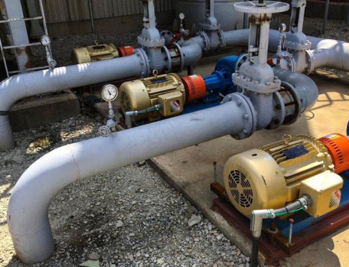 Engine Cooling System Upgrade At Natural Gas Compressor Station